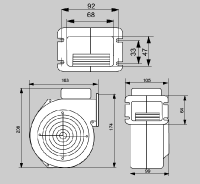 Schéma ventilátoru WPA06